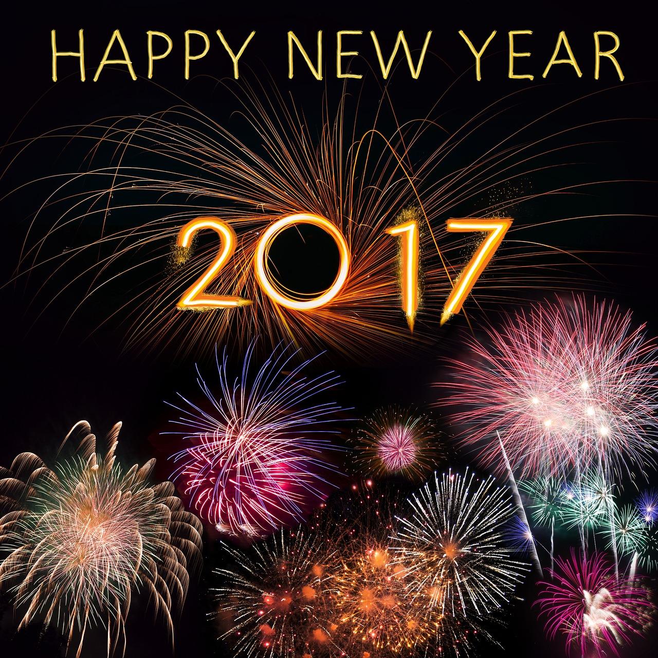 Neujahrsvorsätze 2017